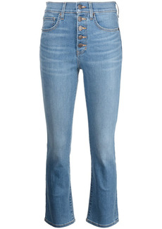 Veronica Beard cropped bootcut jeans
