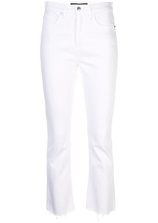 Veronica Beard cropped flare jeans