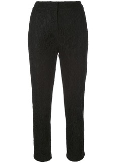 Veronica Beard cropped lace trousers