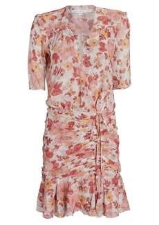 Veronica Beard Dakota Floral Mini Dress