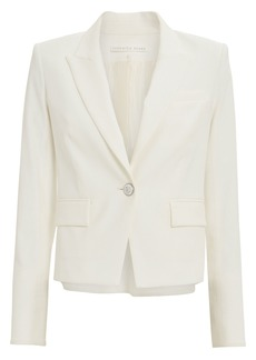 Veronica Beard Danielle Single Button Dickey Blazer