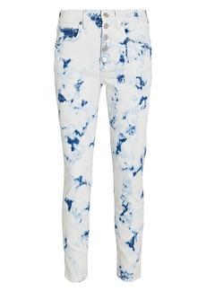 Veronica Beard Debbie Tie-Dye Skinny Jeans