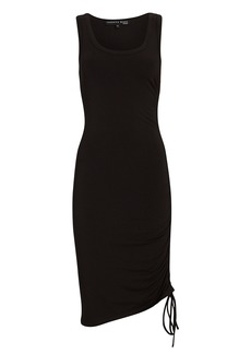 Veronica Beard Dimitri Ruched Tank Dress