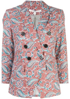 Veronica Beard double buttoned blazer