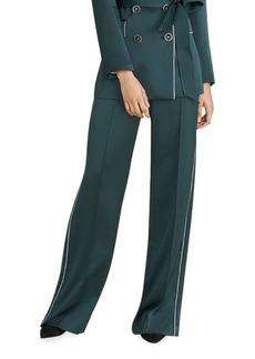 Veronica Beard Edia Wide-Leg Pants