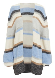 Veronica Beard Elizabeth Striped Cardigan