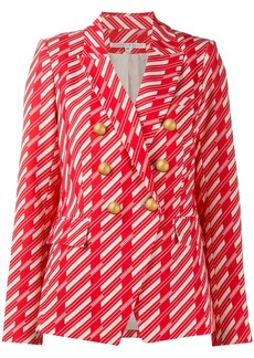 Veronica Beard geometric fitted blazer
