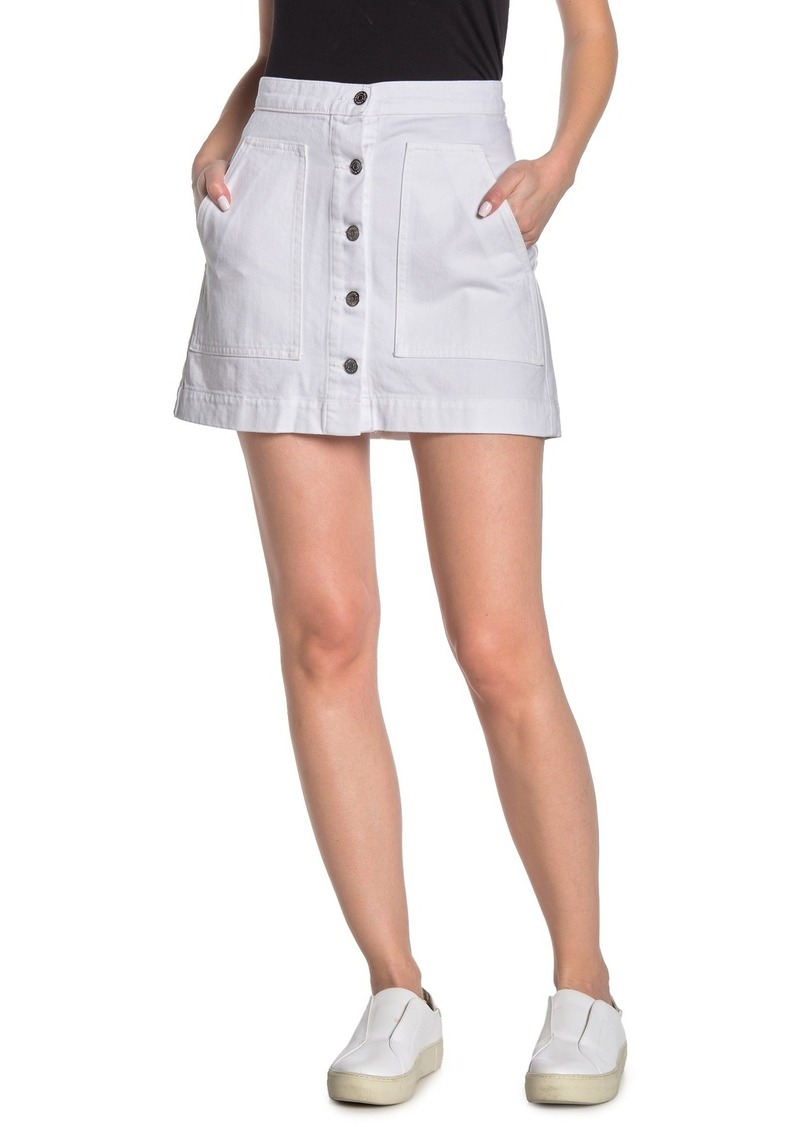 Veronica Beard Getty Cargo Mini Skirt