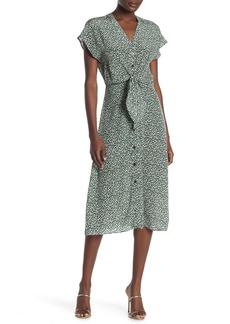 Veronica Beard Giana Floral Silk Midi Dress (Regular & Plus Size)