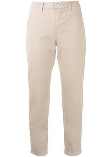 Veronica Beard high-waisted cropped trousers