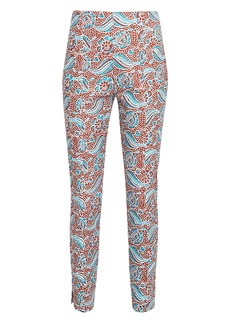 Veronica Beard Honolulu Skinny Cropped Pants