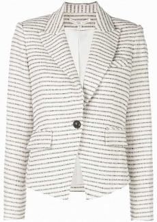 Veronica Beard horizontal striped blazer