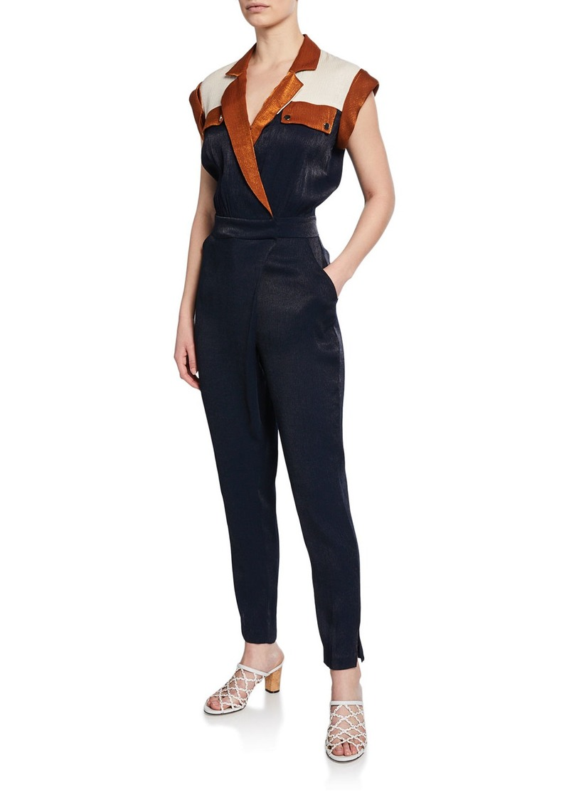 Jordy Short-Sleeve Jumpsuit