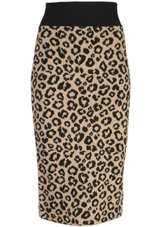 Veronica Beard knitted pencil skirt