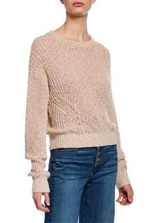 Veronica Beard Leah Crewneck Pullover Sweater
