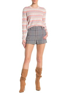 Veronica Beard Lena Houndstooth Shorts