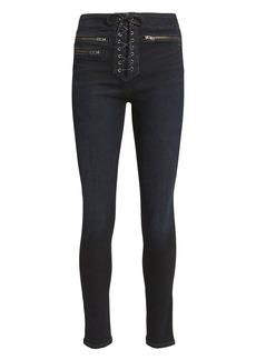 Veronica Beard Lita Skinny Moto Jeans