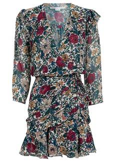 Veronica Beard Marilla Floral Mini Dress