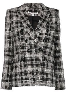 Veronica Beard Miller check print blazer