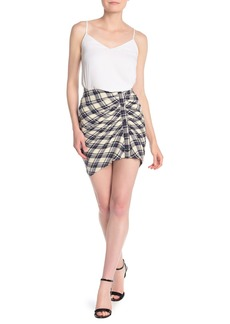 Veronica Beard Murphy Plaid Mini Skirt
