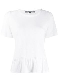 Veronica Beard Reagan peplum T-shirt
