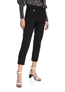Veronica Beard Renzo Cropped Skinny Pants