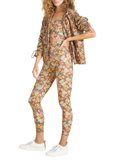 Veronica Beard Sibila Floral-Print Anorak Jacket