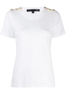 Veronica Beard slim-fit Carla T-shirt