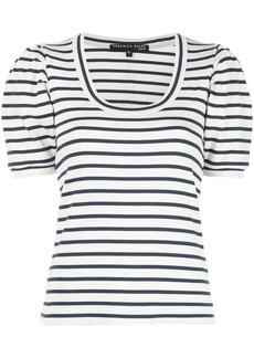 Veronica Beard striped scoop neck T-shirt