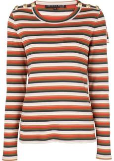 Veronica Beard striped sweatshirt