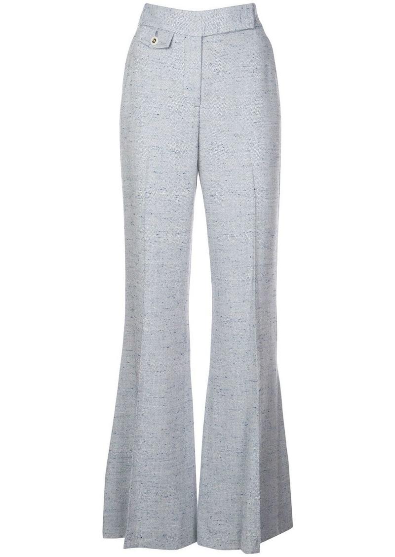 Veronica Beard tailored wide leg trousers
