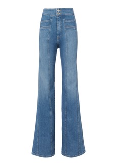 Veronica Beard Farrah Wide Leg Pants