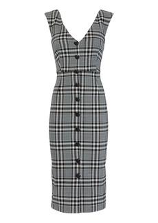 Veronica Beard Lark Plaid Midi Dress