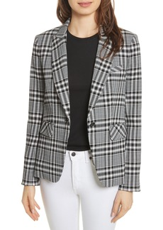Veronica Beard Ada Plaid Dickey Jacket