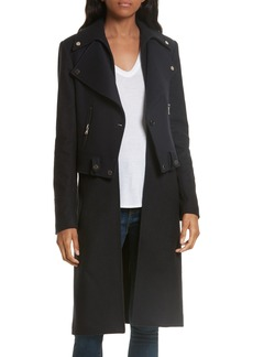 Veronica Beard Alcott Wool & Cashmere Blend Vest Coat