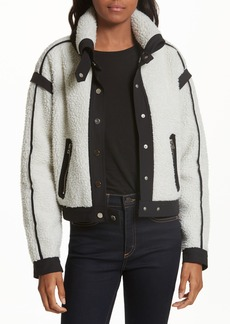 Veronica Beard Anita Fleece Jacket