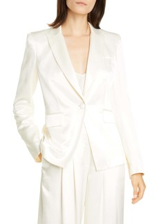 Veronica Beard Athens Satin Dickey Jacket