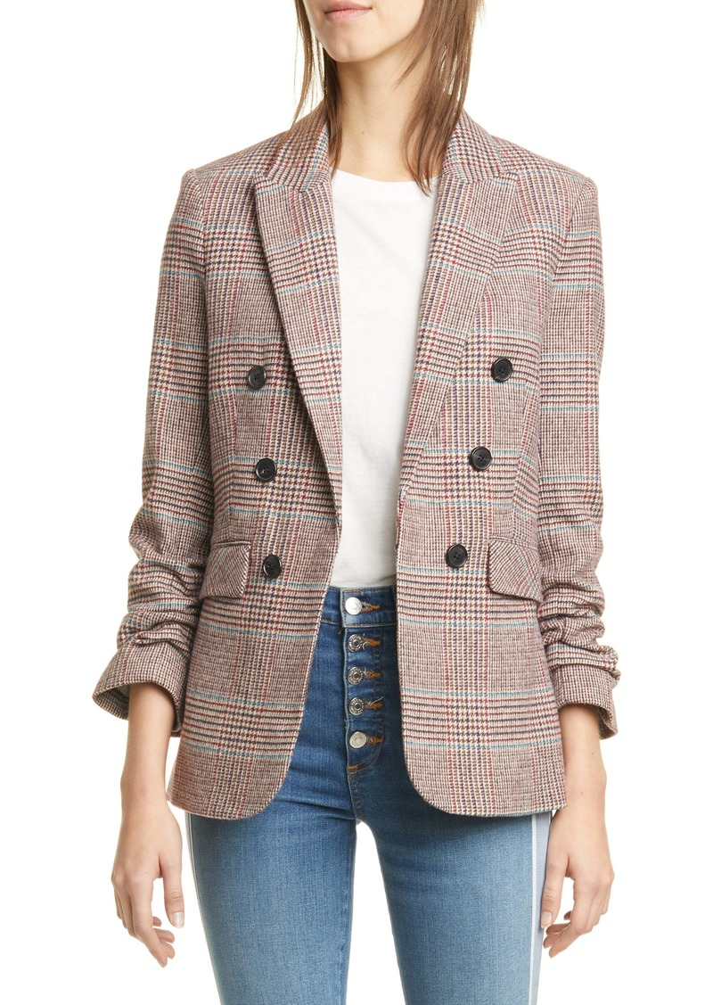 Veronica Beard Beacon Glen Plaid Dickey Jacket (Nordstrom Exclusive)