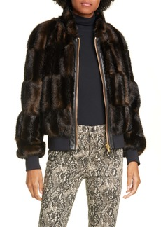 Veronica Beard Bellfire Faux Fur Bomber Jacket