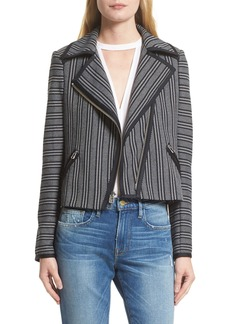 Veronica Beard Benson Moto Jacket (Nordstrom Exclusive)