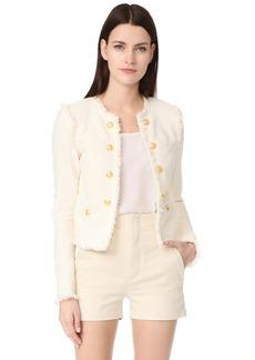 Veronica Beard Betsy Lace Tweed Jacket