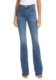 Veronica Beard Beverly High Waist Skinny Flare Jeans (Beacon Ranch)