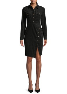 Veronica Beard Britton Long-Sleeve Shirtdress