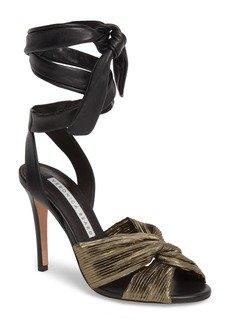 Veronica Beard Calida Ankle Wrap Sandal (Women)