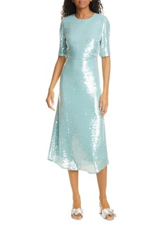 Veronica Beard Carlie Sequin Midi Dress