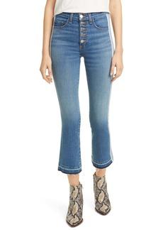 Veronica Beard Carolyn Tuxedo Stripe Baby Boot Jeans (Carolina)