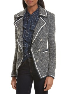 Veronica Beard Carroll Tweed Blazer