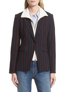 Veronica Beard Carter Cutaway Jacket with Removable Dickey (Nordstrom Exclusive)