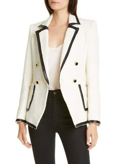 Veronica Beard Cato Double Breasted Dickey Jacket