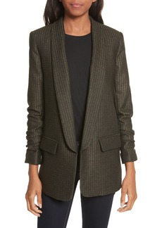 Veronica Beard Clay Shawl Lapel Boy Blazer